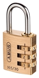 Show details for HANGING CODE LOCK 165/30 C 6 (ABUS)