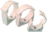 Show details for Capricorn Pipe Holder Plastic White 22mm