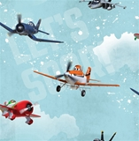 Show details for Paper wallpaper 70-237, with airplanes