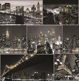 Show details for WALLPAPER PAPER 101696 BLACK CITY (6)