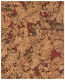 Show details for CORK WALL COVER CONDOR 30X60 RED. (Corksribas)