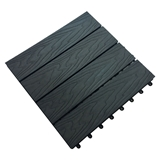 Show details for Terrace wooden structure 300x300x22 dark gray