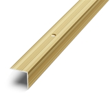 Show details for Angle rail for steps D5 2.7m, gold