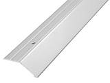 Show details for Angle strip Parket C3, 2.7m, silver