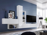 Show details for ASM Blox IV Living Room Wall Unit Set White