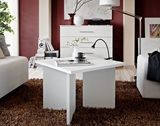 Show details for Coffee table ASM Piko White, 600x600x450 mm