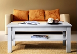 Show details for Coffee table ASM Uni White, 1100x600x450 mm
