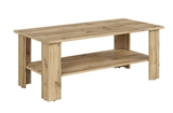Show details for Coffee table Black Red White Acadia Oak, 1150x560x455 mm