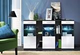 Show details for ASM Dorade Commode Black/White Gloss