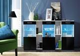 Show details for ASM Dorade Commode White/Black Gloss