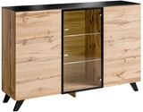 Show details for ASM  SB Thin Chest Of Drawers Wotan Oak