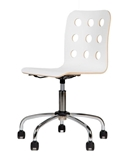 Show details for Children's chair Black Red White Cantona GTS White