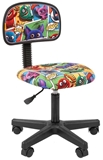 Show details for Children's chair Chairman 101 Monsters Black