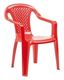 Show details for CHILD CHAIR CAMELIA PLASTM. RED