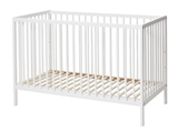Show details for Children's bed BabyDan Comfort White, 120x60 cm