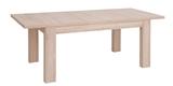 Show details for Dining table Black Red White Ajpi Sonoma Oak, 1600x900x780 mm