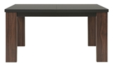 Show details for Dining table Black Red White Alhambra Brown, 1400x900x760 mm