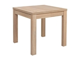 Show details for Dining table Black Red White Baklawa Sonoma Oak, 800x800x780 mm
