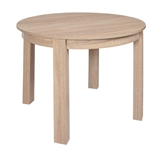 Show details for Dining table Black Red White Bernardin Sonoma Oak, 950x950x760 mm