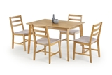 Show details for Dining set Halmar Cordoba Light Oak