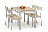 Show details for Dining set Halmar Malcolm Sonoma Oak