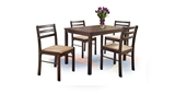 Show details for Dining set Halmar New Starter Espresso