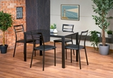 Show details for Dining set Halmar Ottawa Black