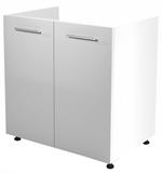 Show details for almar Kitchen Bottom Cabinet Under The Sink Vento DK-80/82 White/Honey Oak