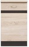 Show details for Black Red White Kitchen Bottom Cabinet Left Junona Line-D1D/50/82L Sonoma Oak/Wenge