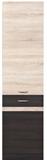 Show details for Black Red White Kitchen Bottom Cabinet Left Junona Line D2D/50/195L Wenge/Sonoma Oak