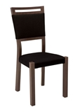 Show details for Dining chair Black Red White Alhambra Ecuador 2471 Oak / Wenge / Bronze