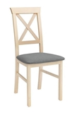 Show details for Dining chair Black Red White Alla 3 Gray