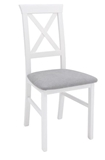 Show details for Dining chair Black Red White Alla 3 White / Gray