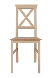 Show details for Dining chair Black Red White Alla 4 Beige / Brown