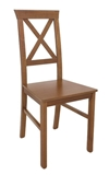 Show details for Dining chair Black Red White Alla 4 Brown