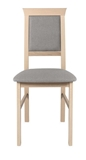 Show details for Dining chair Black Red White Allanis 2 Gray