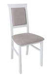 Show details for Dining chair Black Red White Allanis 2 White / Gray