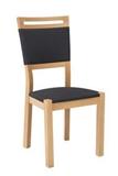 Show details for Dining chair Black Red White Arosa Natural Oak Ekwador 2417