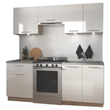 Show details for Kitchen set Halmar Marija Sonoma Oak / White, 2 m