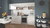 Show details for Kitchen set Halmar Viola White / Sonoma Oak, 2.6 m