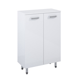 Show details for CABINET EVE 50 2D WHITE