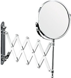 Show details for Axentia Bathroom Magnifying Wall Mirror Chrome Round 170mm