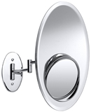 Show details for Axentia Wall Mirror Chrome