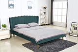 Show details for Bed Valverde 160 Dark Green
