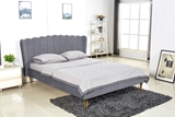 Show details for Bed Valverde 160 Grey
