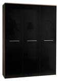 Show details for ASM Big Wardrobe Sonoma Oak/Black