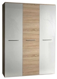 Show details for ASM Big Wardrobe Sonoma Oak/White Gloss