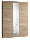 Show details for ASM Big Wardrobe w/ Mirror Sonoma Oak