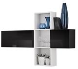 Show details for ASM Blox SB I Hanging Cabinet Set Black/White