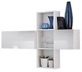 Show details for ASM Blox SB I Hanging Cabinet Set White